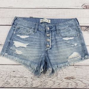 Abercrombie & fitch boyfriend short low rise 6